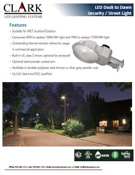 LED Dusk to Dawn Security Street Light 2
