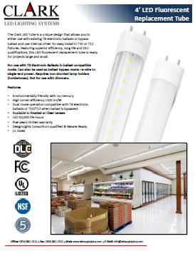 LED Fluorescent Replacement Bulbs