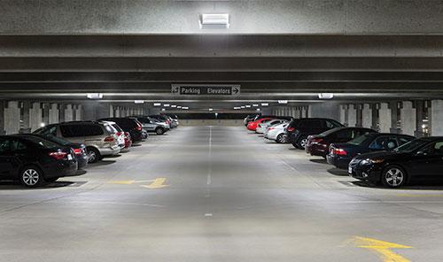 led-hospital-parking-lot